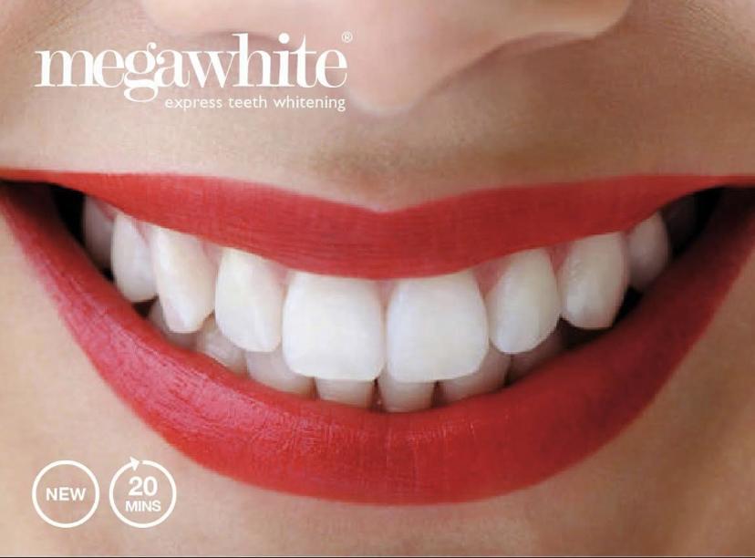 Teeth Whitening image - megawhite